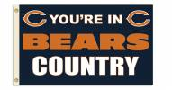 """Chicago Bears """"You're In Bears Country"""" Flag"""