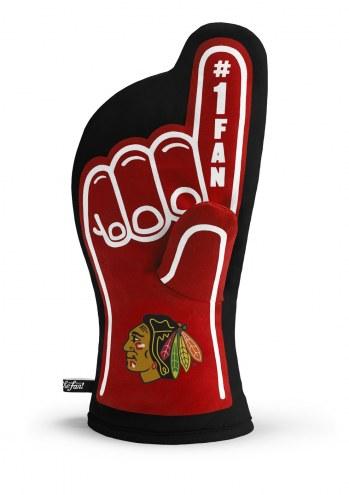 Chicago Blackhawks #1 Fan Oven Mitt
