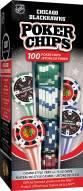 Chicago Blackhawks 100 Poker Chips