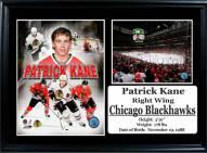 """Chicago Blackhawks 12"""" x 18"""" Patrick Kane Photo Stat Frame"""