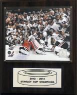 """Chicago Blackhawks 12"""" x 15"""" 2012-2013 Stanley Cup Celebration Plaque"""