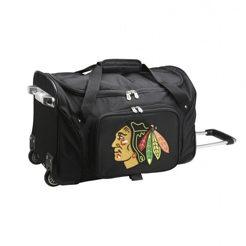 "Chicago Blackhawks 22"" Rolling Duffle Bag"