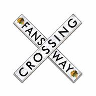 "Chicago Blackhawks 24"" Fans Way Crossing Wall Art"