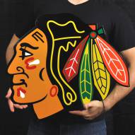 "Chicago Blackhawks 24"" Steel Logo Sign"
