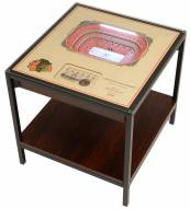 Chicago Blackhawks 25-Layer StadiumViews Lighted End Table