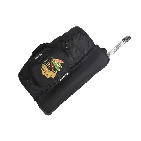 "Chicago Blackhawks 27"" Drop Bottom Wheeled Duffle Bag"