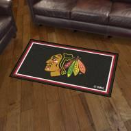 Chicago Blackhawks 3' x 5' Area Rug