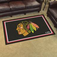 Chicago Blackhawks 4' x 6' Area Rug