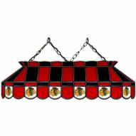 "Chicago Blackhawks 40"" Stained Glass Billiard Lamp"