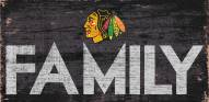 "Chicago Blackhawks 6"" x 12"" Family Sign"