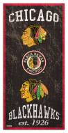 "Chicago Blackhawks 6"" x 12"" Heritage Sign"