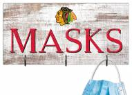 "Chicago Blackhawks 6"" x 12"" Mask Holder"
