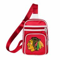 Chicago Blackhawks Mini Cross Sling Bag