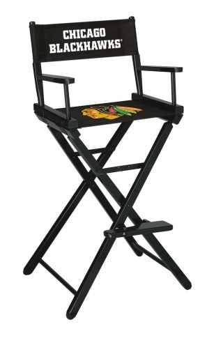 Chicago Blackhawks Bar Height Director's Chair