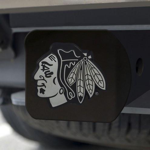 Chicago Blackhawks Black Matte Hitch Cover