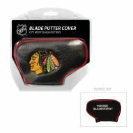 Chicago Blackhawks Blade Putter Headcover