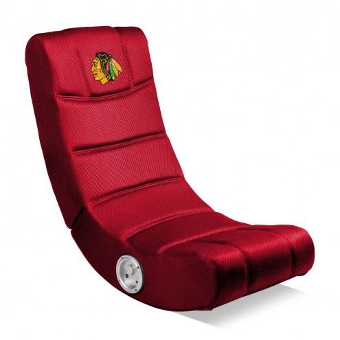 Chicago Blackhawks Bluetooth Gaming Chair