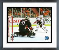 Chicago Blackhawks Brad Richards playoff Action Framed Photo