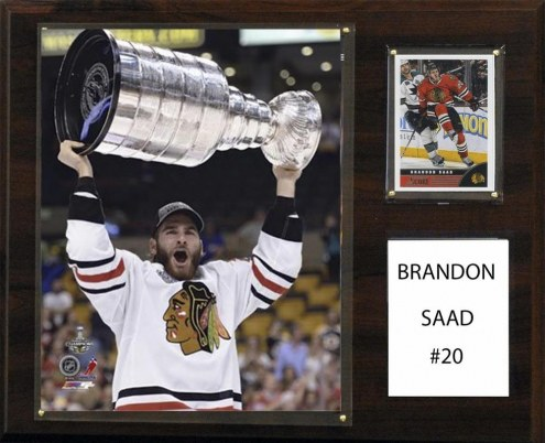 "Chicago Blackhawks Brandon Saad 12"" x 15"" Player Plaque"