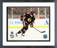 Chicago Blackhawks Brandon Saad 2014 NHL Stadium Series Action Framed Photo
