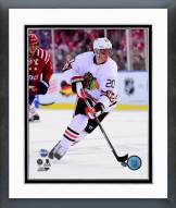 Chicago Blackhawks Brandon Saad NHL Winter Classic Action Framed Photo