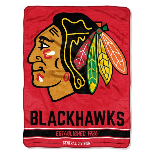 Chicago Blackhawks Break Away Blanket