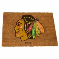 Chicago Blackhawks Colored Logo Door Mat