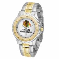 Chicago Blackhawks Competitor Two-Tone Men's Watch