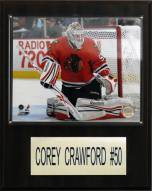 "Chicago Blackhawks Corey Crawford 12"" x 15"" Player Plaque"