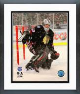 Chicago Blackhawks Corey Crawford NHL Stadium Series Action Framed Photo