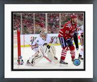 Chicago Blackhawks Corey Crawford NHL Winter Classic Action Framed Photo