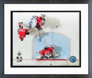 Chicago Blackhawks Corey Crawford Game 4 Stanley Cup Finals Framed Photo