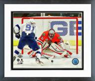 Chicago Blackhawks Corey Crawford Game 6 Stanley Cup Finals Framed Photo