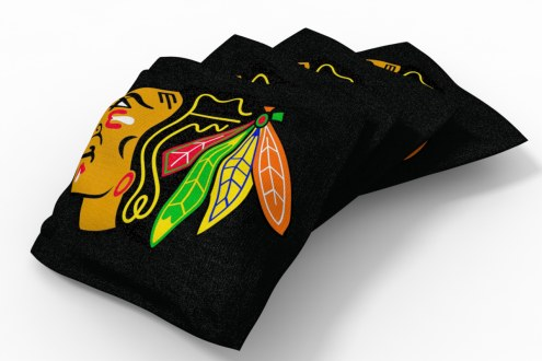 Chicago Blackhawks Cornhole Bags - Set of 4