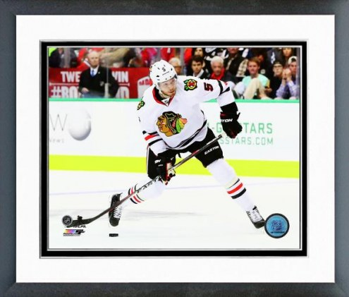 Chicago Blackhawks David Rundblad Action Framed Photo