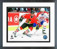 Chicago Blackhawks Doug Gilmour Action Framed Photo