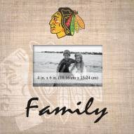 Chicago Blackhawks Family Picture Frame