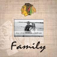 Chicago Blackhawks Family Picture Frame