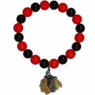 Chicago Blackhawks Fan Bead Bracelet