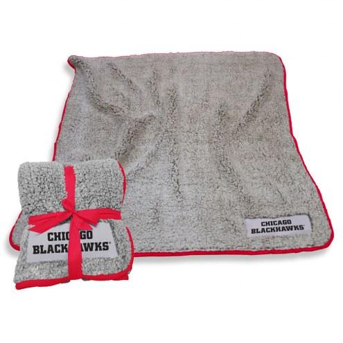 Chicago Blackhawks Frosty Fleece Blanket
