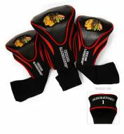 Chicago Blackhawks Golf Headcovers - 3 Pack
