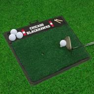 Chicago Blackhawks Golf Hitting Mat