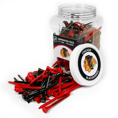 Chicago Blackhawks 175 Golf Tee Jar