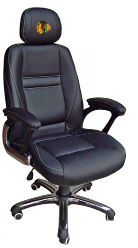 Chicago Blackhawks Head Coach Office Chair