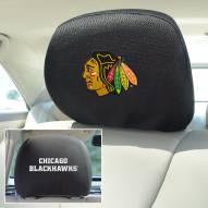 Chicago Blackhawks Headrest Covers
