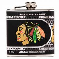 Chicago Blackhawks Hi-Def Stainless Steel Flask