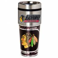 Chicago Blackhawks Hi-Def Travel Tumbler