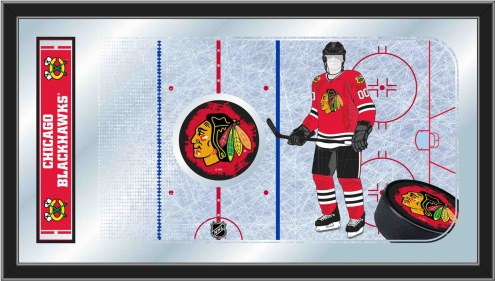 Chicago Blackhawks Hockey Rink Mirror