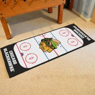Chicago Blackhawks Hockey Rink Runner Mat
