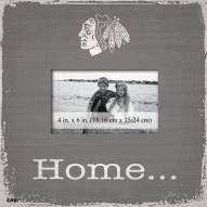 Chicago Blackhawks Home Picture Frame